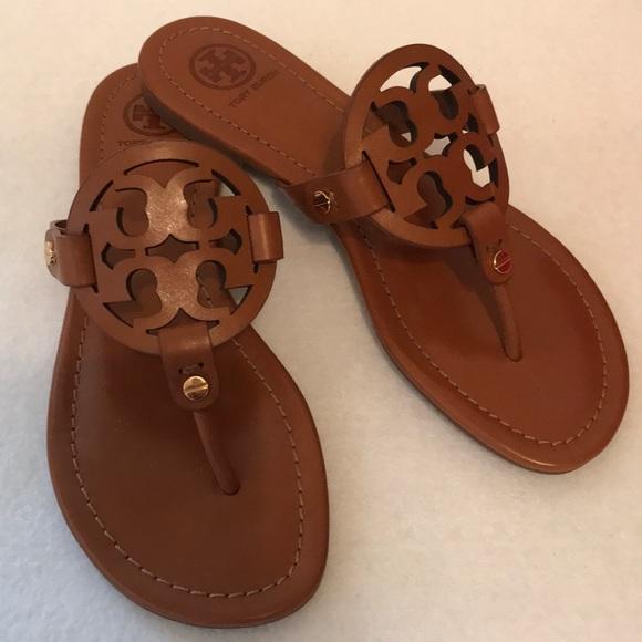 b54af8b1a Tory Burch Shoes | Nwb Miller Sandal Vintage Vachetta | Poshmark